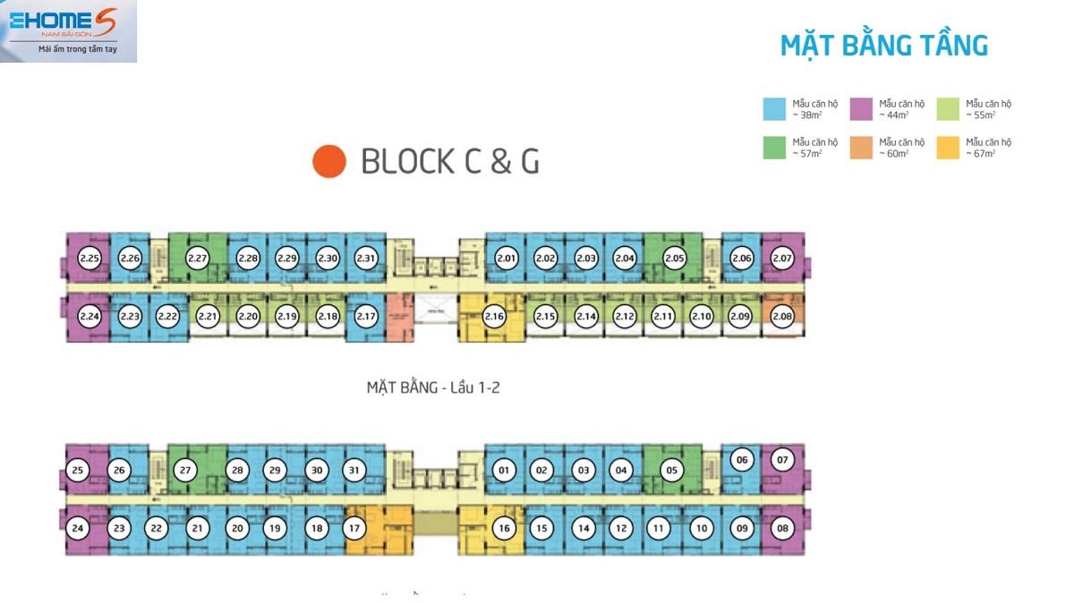 mat bang tang ehome s mizuki block C-G