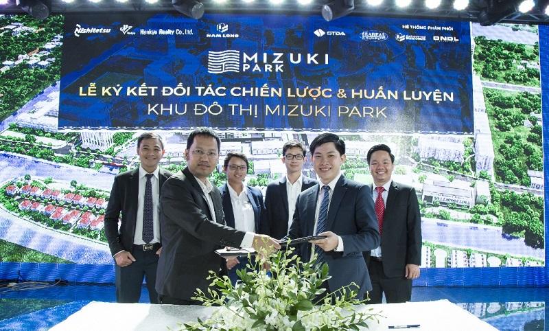 hợp tác phân phối dự án Mizuki Park